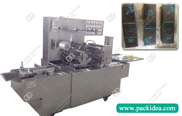 Buy Perfume Box Cellophane Over Wrapping Machine Price for Sale