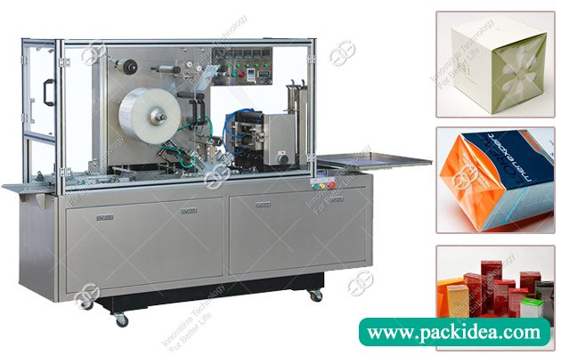 GGB-400A Cosmetic Box Wrapping Machine with Cellophane Film