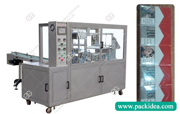 BOPP Cellophane Wrapping Machine for 10 Cigarette Boxes|Cigarette Overwrapper