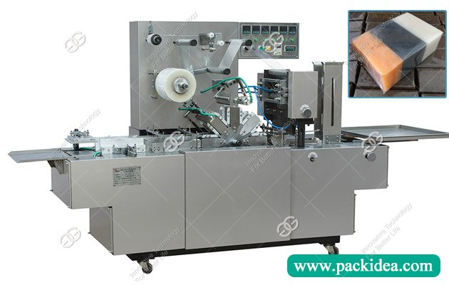 Transparent Film Soap Overwrapping Machine|Soap Packaging Machine for Sale
