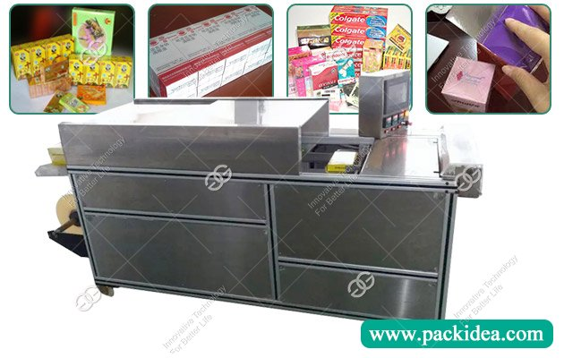 Manual Cellophane Wrapping Machine for Perfume Boxes Price