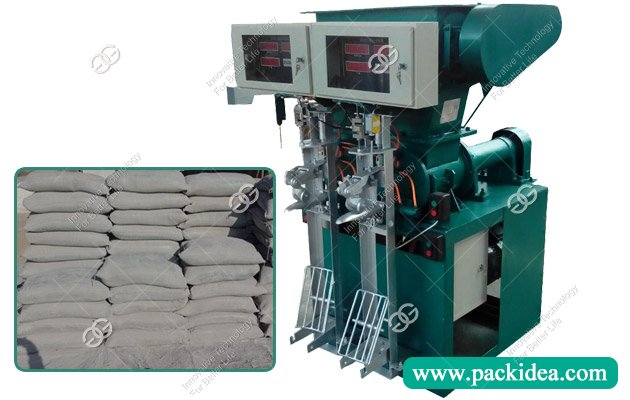 Double Spout Gypsum Powder Filling Sealing Machine