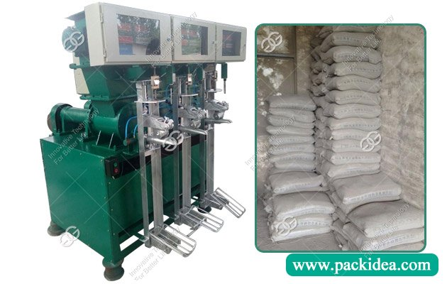 Three Mouth Valve Cement Bag Packer Machine|Packing Machine in Cement Plant