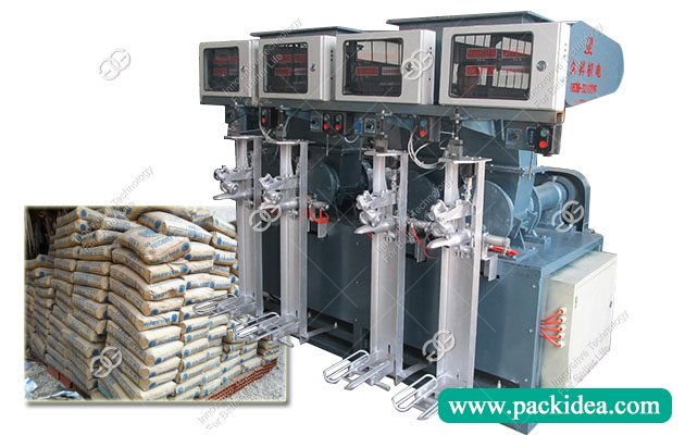 Four Spout Cement Filling Packaging Machine Plant for Sale