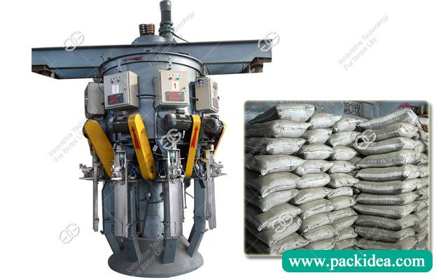 8 Spout Rotary Cement Packing Machine with Eectronic weigher