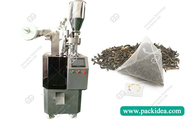 Pyramid Tea Bag Packing Machine|Triangle Tea Bag Packaging Machine for Sale