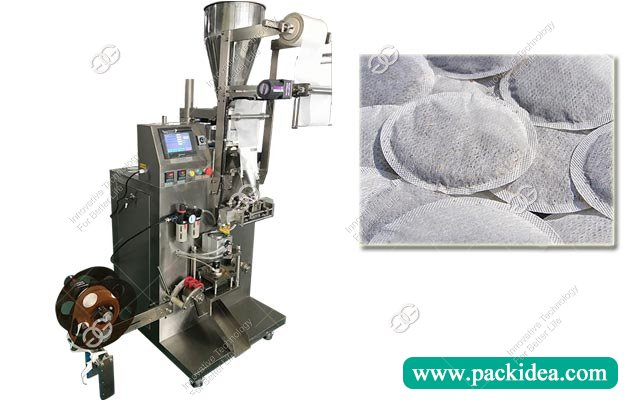 Round Tea Powder Sachet Filling Packging Machine With Low Price