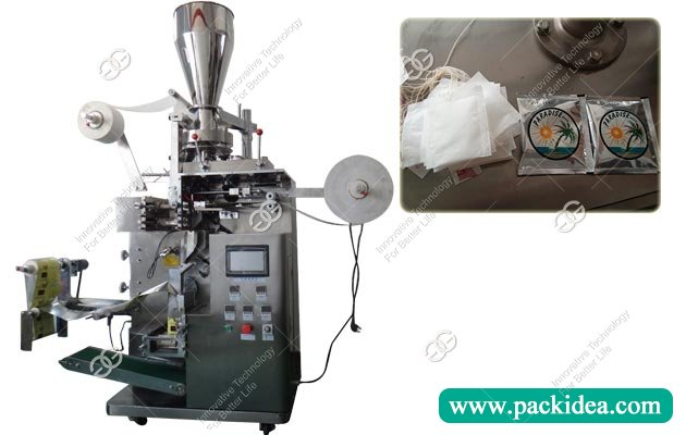 Commerical Tea Bagging Machine|Double Layer Tea Pod Packing Machine