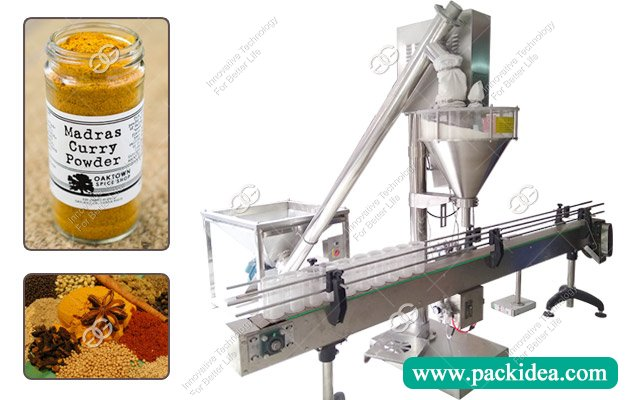Automatic Curry Powder Filling Machine