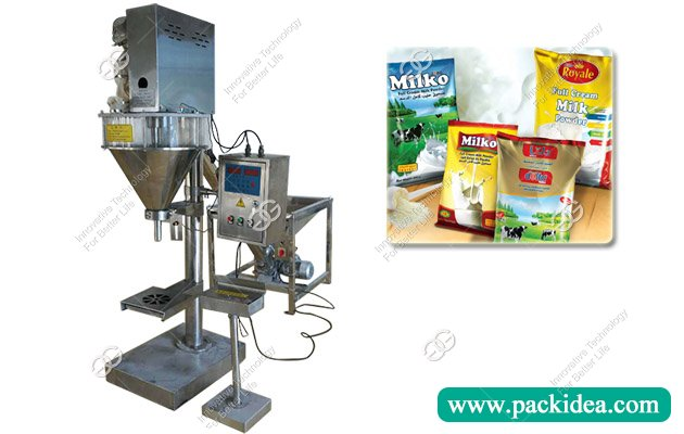 Semi Automatic Dry Milk Powder Filling Machine Equipment