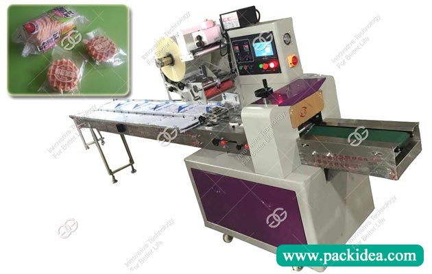 Automatic Flow Biscuit Cookie Packaging Machine