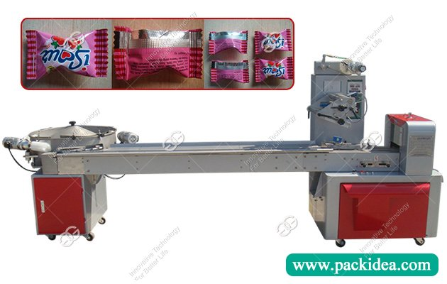 Automatic Horizontal Cube Sugar|Nougat Packaging Machine