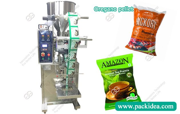 Automatic Oregano Pellet Packing Machine|Cardamom Packaging Machine