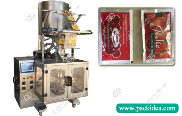 Automatic Tomato Ketchup Sauce Sachet Packing Machine
