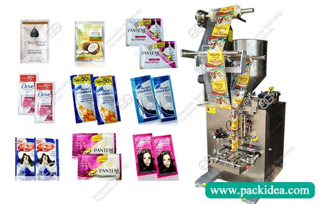 Shampoo Sachet Filling Packing Machine for Sale