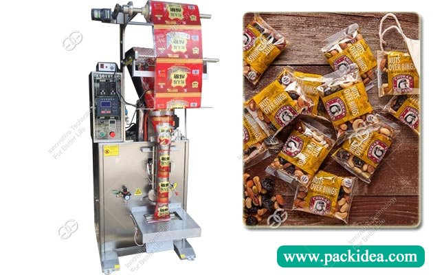 Dry Fruit Cashew Nuts Packing Machine Price