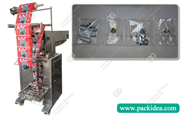 Chain Bucket Hardware Nut and Bolts Packing Machine