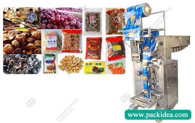 Granular Preserved Fruit|Dates|Spoon Packaging Machine