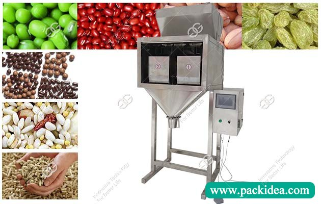 Double Scale Grain Rice Chocolate Packing Machine