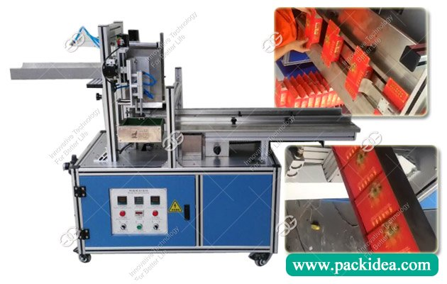 Hot Melt Carton Box Gluing Sealing Machine for Sale
