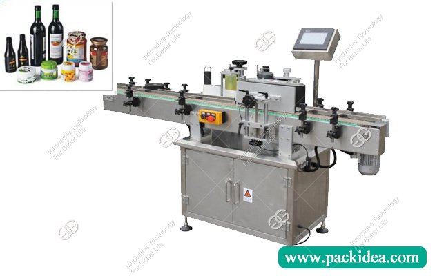Automatic Round Bottle Sticker Labeling Machine for Sale
