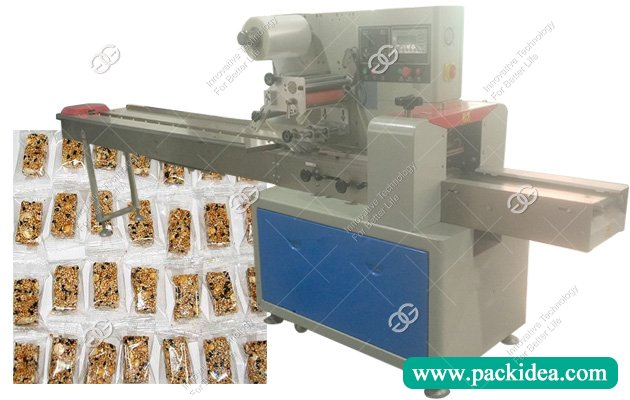 Flow Wrap Peanut Chikki Packing Machine Price