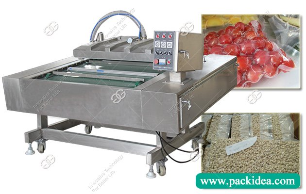 Automatic Cashew Nut Vacuum Packing Machine