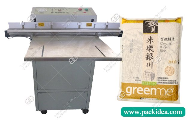 Industrial Vacuum Food Sealer Packing Machine For Rice