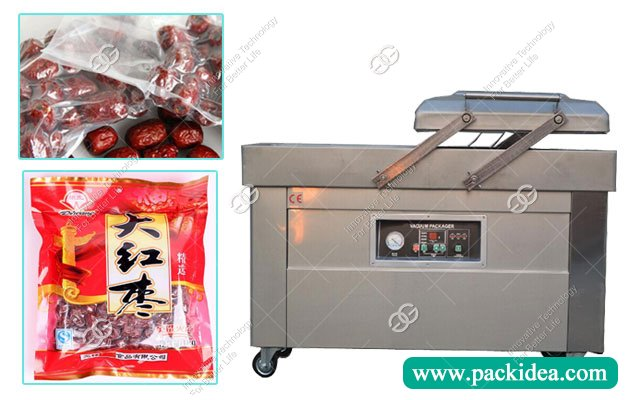 Automatic Khajoor Date Vacuum Packing Machine In India