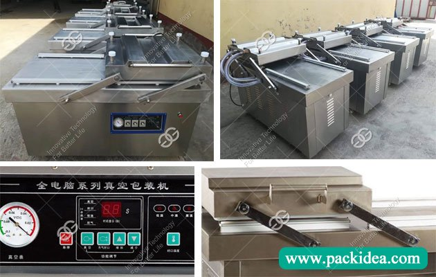 Double Chamber Date Packing Machine