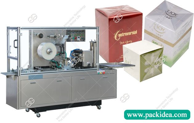 Sold Cellophane Wrapping Machine To South Africa