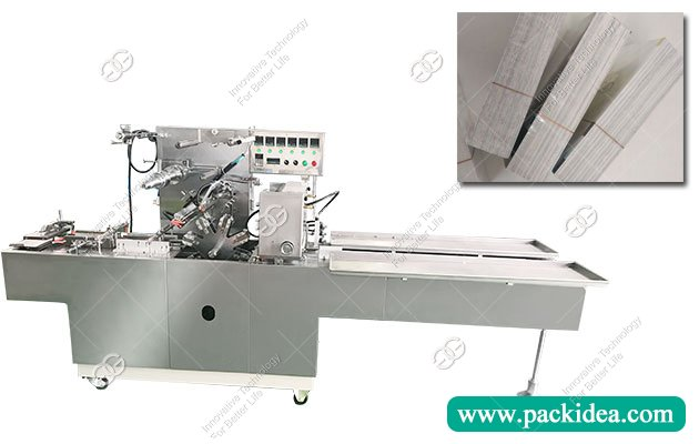 Automatic Playing Card Wrapping Machine|Business Cards Over Wrapper