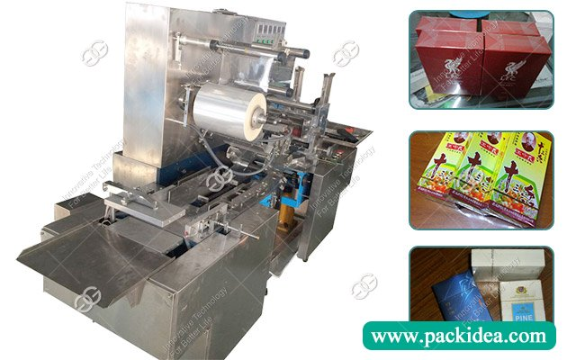 Bopp Film Cellophane Wrapping Machine