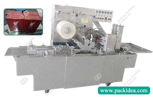 Cellophane Box Overwrapping Machine