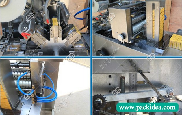 Cellophane Box Wrapper Machine