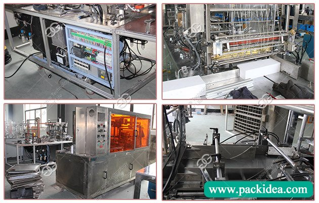 Cellophane Wrapping Machine for Cosmetic