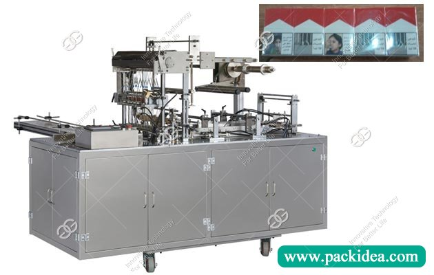 GGB-400A Cigarette Cellophane Wrapping Machine