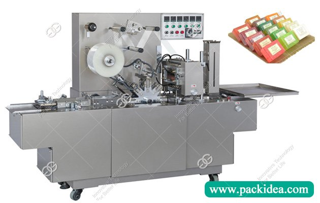 Transparent Film Soap Overwrapping Machine