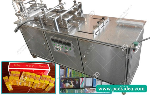 3d Cellophane Packaging Machine