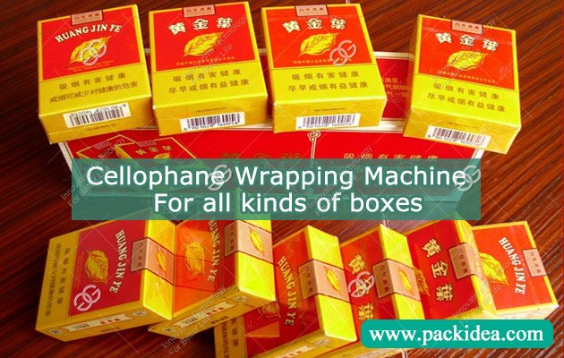 Cellophane Wrapping Machine for Cigarette