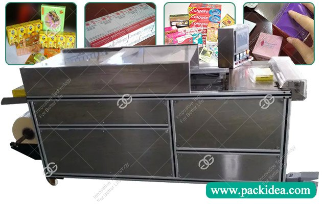 Cellophane Wrapping Machine for Perfume