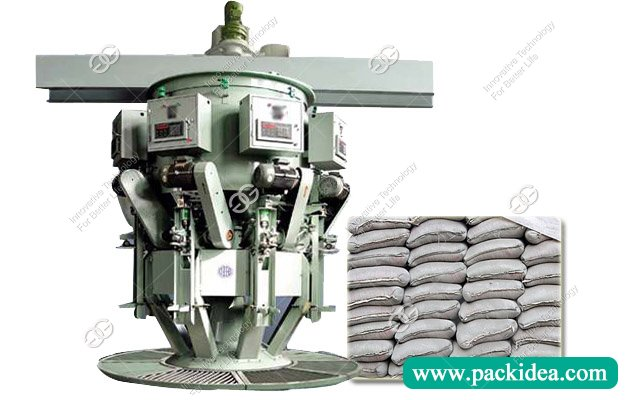Six Spout Cement Packing Machine