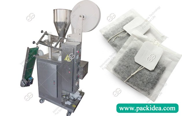 Tea Bag Packing Machine with String and Tag