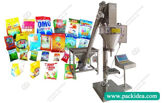 Detergent Washing Powder Filling Machine