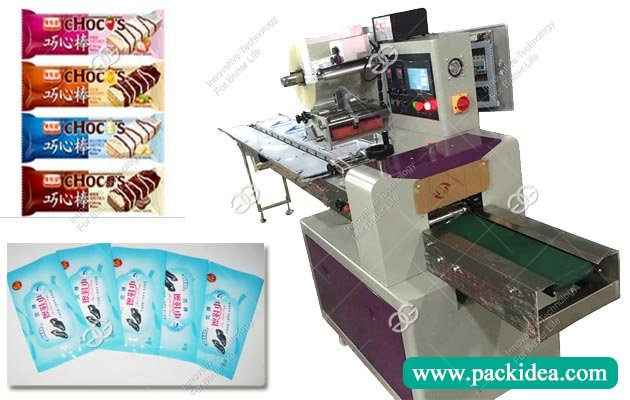 Flow Biscuits Packaging Machine