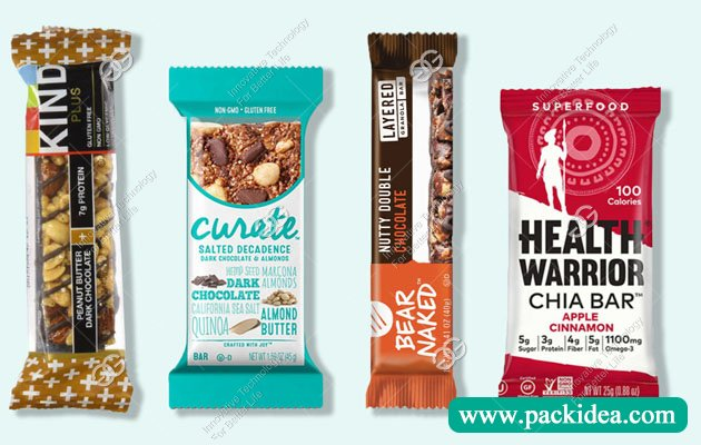 Automatic Flow Pack Machine for Granola Bars
