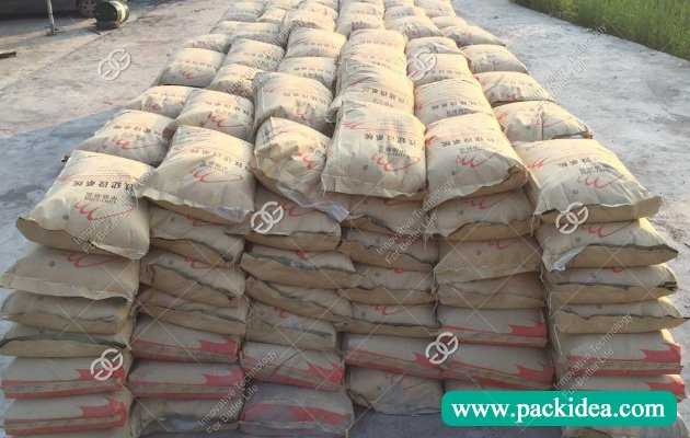 Dry Mortar Packing