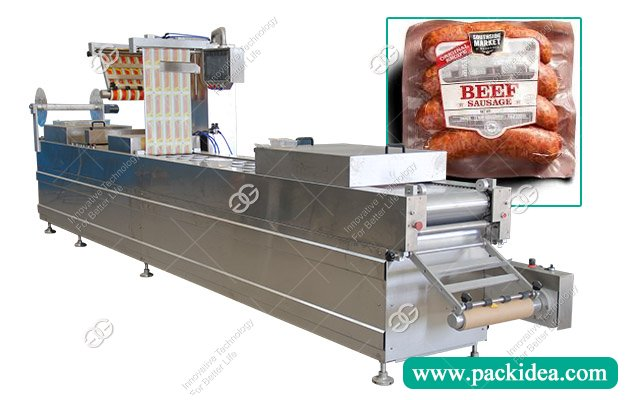 Automatic Thermoforming Sausage Vacuum Packing Machine