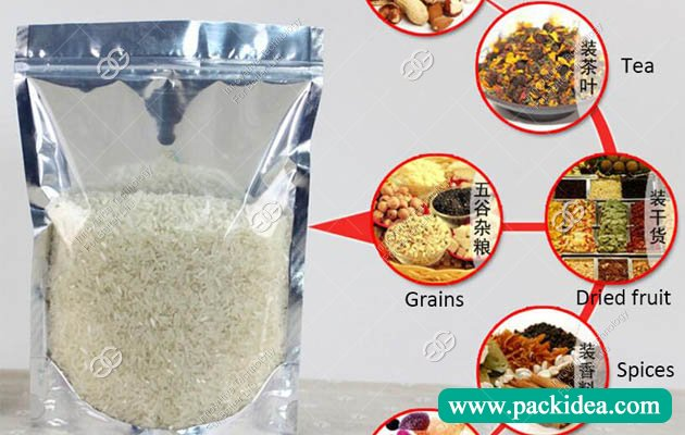 Pouch Packing Machine for Grain