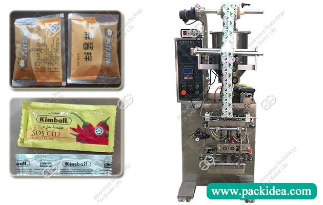 Automatic Chili Sauce Filling Packing Machine